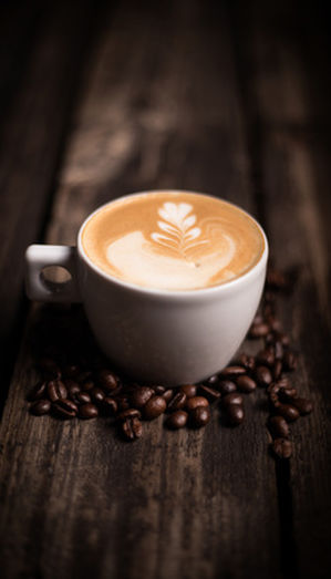 Coffee and chocolate drinks